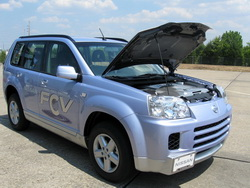 Hydrogen Fuel Cell Automobile
